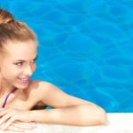 Cuidados com os cabelos na piscina